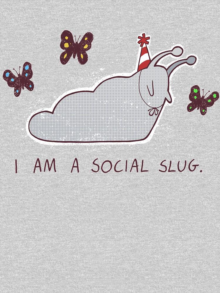 Social Slug by ollierayart