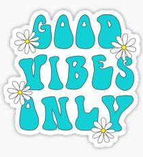 Good Vibes Flower Power Sticker