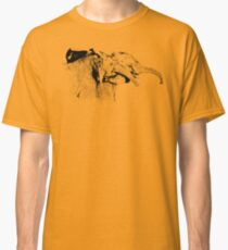Affectionate Young Elephants | African Wildlife Classic T-Shirt