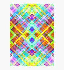 Colorful digital art splashing G71 Photographic Print