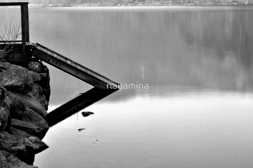 Dock and Lake by nayamina