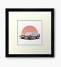 DeLorean DMC 12 Framed Print