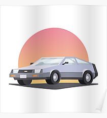 DeLorean DMC 12 Poster