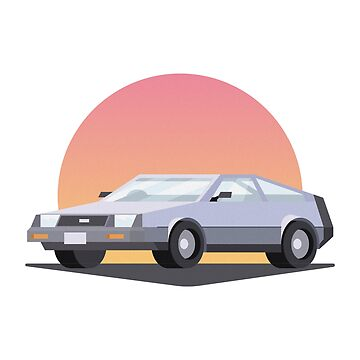 DeLorean DMC 12 by petervuart