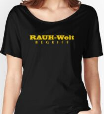 RWB FONT GOLD Women's Relaxed Fit T-Shirt