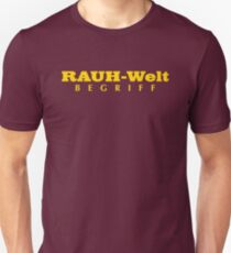 RWB FONT GOLD Unisex T-Shirt