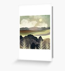 Retro Afternoon Greeting Card