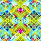 Colorful digital art splashing G471 by MEDUSA GraphicART