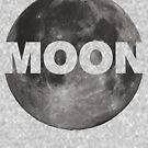 Moon by HandDrawnTees