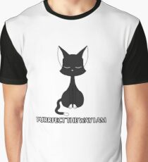 Purrfect The Way I Am Graphic T-Shirt