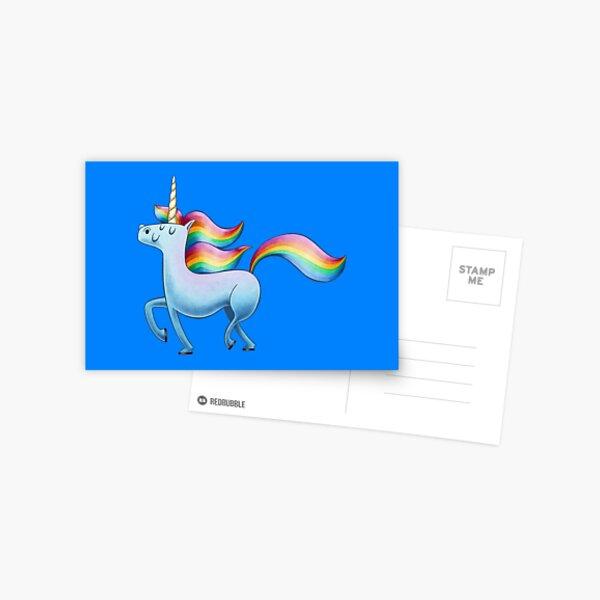 Happy Unicorn Postkarte
