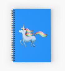 Happy Unicorn Spiral Notebook
