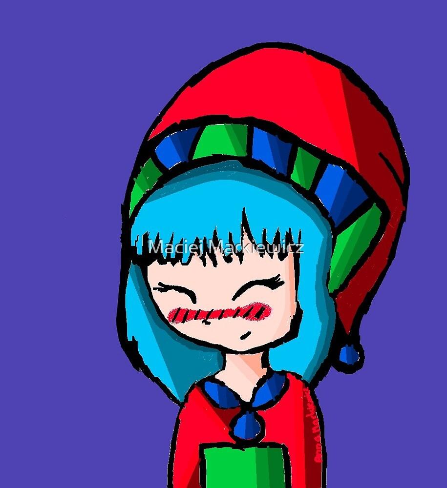 Little Christmas Troll 2 by Maciej Markiewicz
