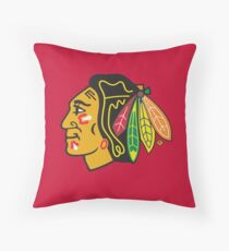 Chicago Blackhawks Throw Pillow