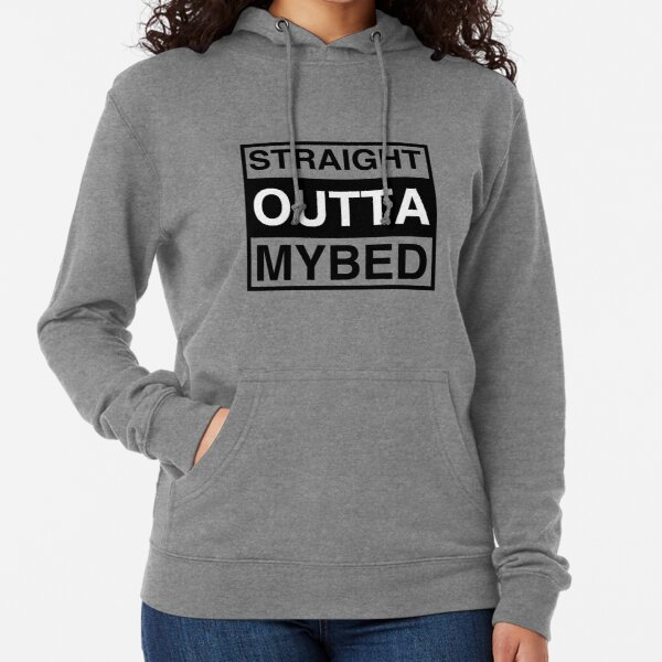Lazy Napping Sleep Compton Unisex Hoodie Straight Outta My Bed