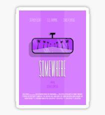 Somewhere Sticker
