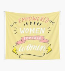 Empowerment for Women Wall Tapestry