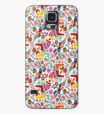 Funda/vinilo para Samsung Galaxy Otomi mexicano