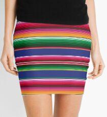 Mexican Serape Designs Mini Skirt