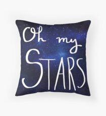 Oh My Stars! Throw Pillow