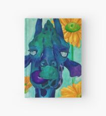 Happy Giraffe Hardcover Journal