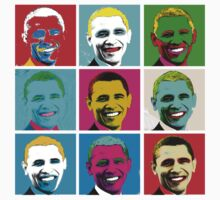Obama Warhol Pop Art