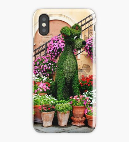 Canines in Love, EPCOT's Flower and Garden Festival iPhone Case