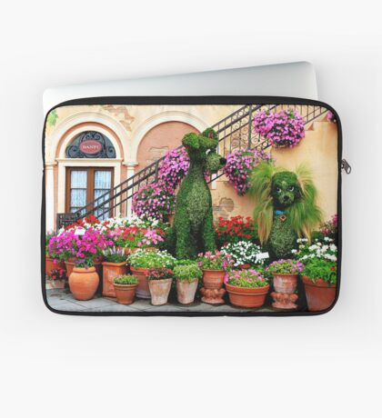 Canines in Love, EPCOT's Flower and Garden Festival Laptop Sleeve