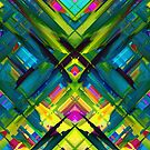 Colorful digital art splashing G467 by MEDUSA GraphicART
