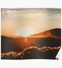Sunset Paradise Poster