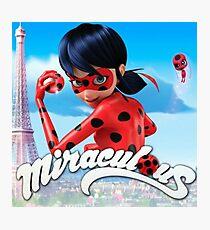 Miraculous Ladybug Photographic Print