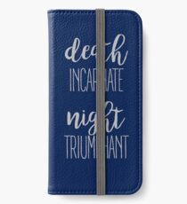 High Lord of the Night Court iPhone Wallet/Case/Skin