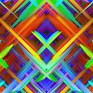 Colorful digital art splashing G466 by MEDUSA GraphicART