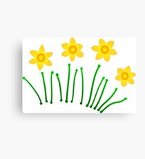 Daffodils!!! Canvas Print