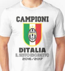 Juventus Campione D¨Italia Unisex T-Shirt