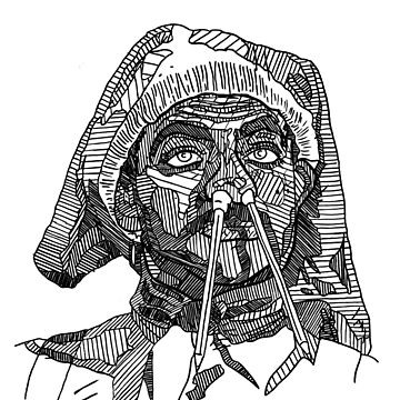 Rowan Atkinson // Blackadder Drawing by Matti-walker