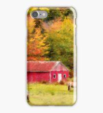 Autumn Horses iPhone Case/Skin