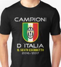 Juventus Campeone D´Italia  Unisex T-Shirt