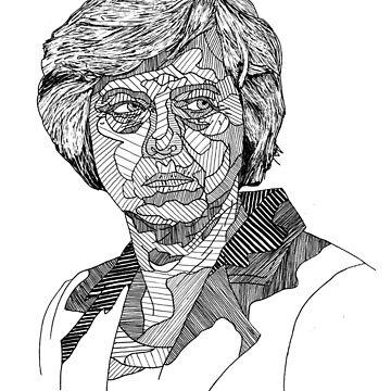 Theresa May by Matti-walker