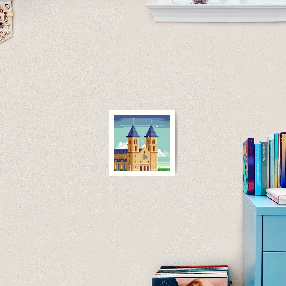 Cathedral of the Plains Art Print