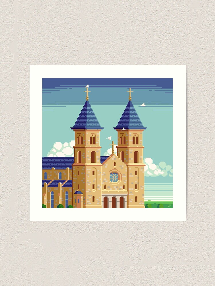 Alternate view of Cathedral of the Plains Art Print