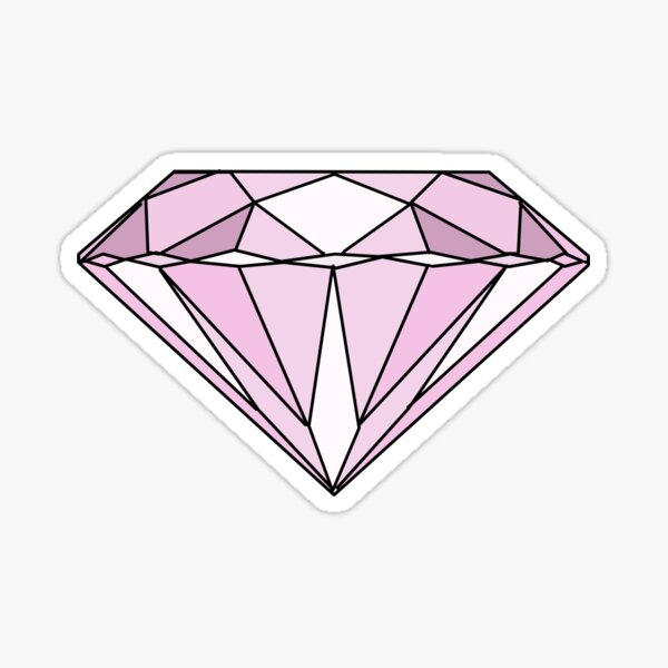 Pink Diamond Sticker