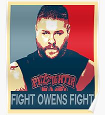 Fight Owens Fight Hope Design Poster