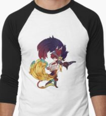 Camiseta ¾ bicolor para hombre ¡Bajadme!