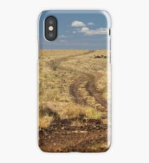 Down the Dusty Road iPhone Case
