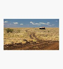 Down the Dusty Road Photographic Print