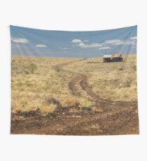 Down the Dusty Road Wall Tapestry
