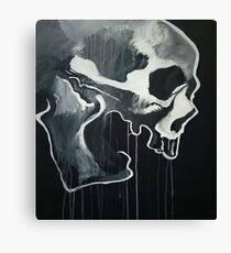 Skull Jammer Canvas Print
