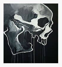 Skull Jammer Photographic Print