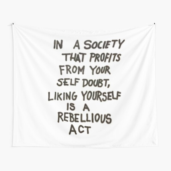 Society Statement Tapestry